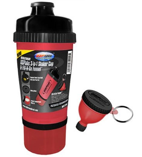 USP 3-IN-1 Shaker Cup