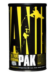 Universal Nutrition Animal Pak Multivitamin - Vitamins with Amino Acids, Antioxidants, Digestive Enzymes, Performance Complex - Immune Supportand Recovery - 44 Paks