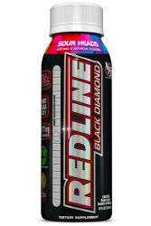 VPX Redline Black Diamond - Sour Heads for Laser Focus, Clear Energy and Razor Sharp Reaction 12/8oz Bottle
