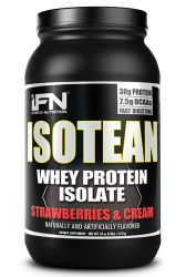 iForce Nutrition Isotean Strawberries & Cream - 2 lbs