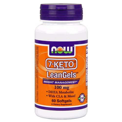 NOW Foods 7 Keto Dhea 100 mg 60 Capsules