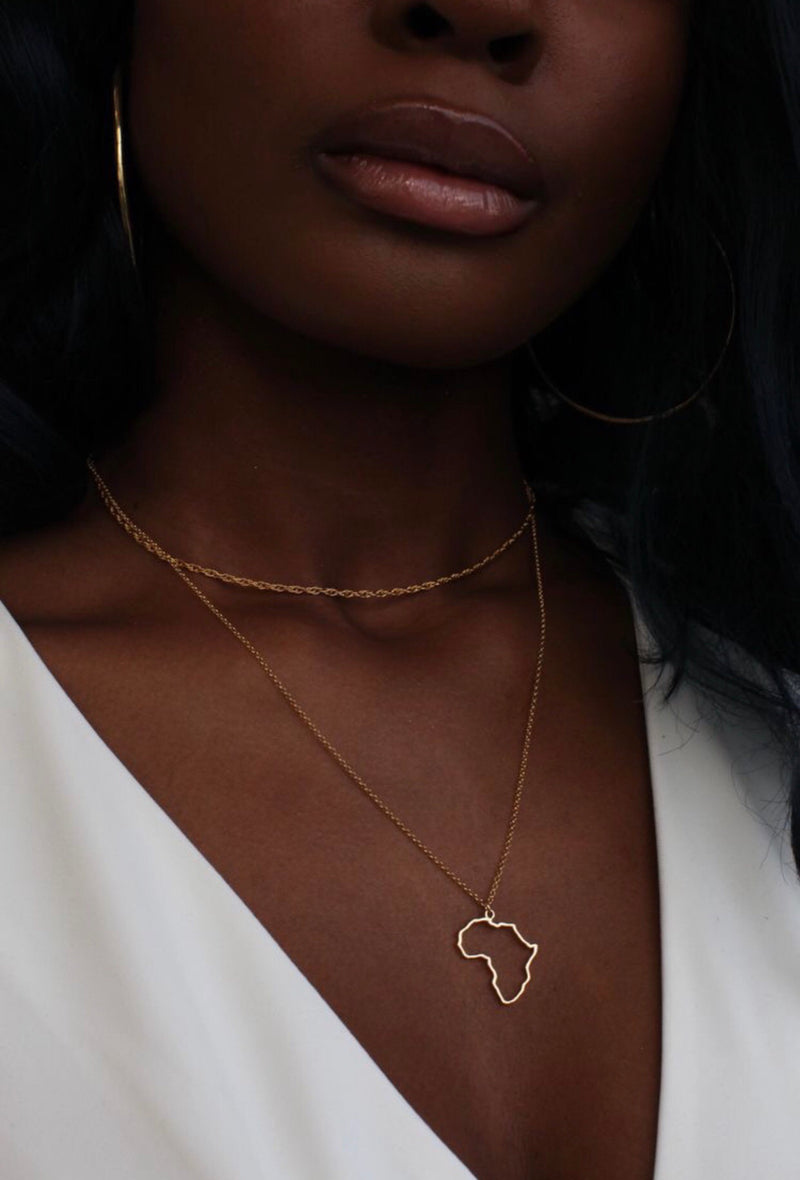 Africa Open Necklace -60% OFF