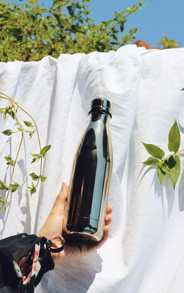 Gold Reusable Water Bottle