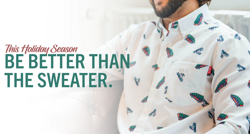RSVLTS Holiday Oxfords: Waging War On Ugly Christmas Sweaters