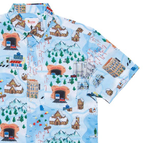 "RSVLTS XS Elf Short Sleeve Shirt Elf ""Buddy's Journey"" – KUNUFLEX Short Sleeve Shirt"