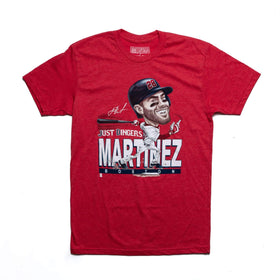 RSVLTS Small / Red MLBPA T-Shirt J.D. Martinez Just Dingers – Crewneck Tee
