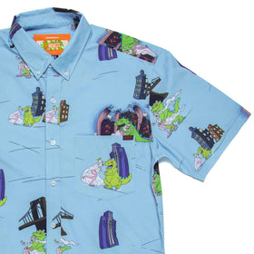 RSVLTS XS Nickelodeon Short Sleeve Shirt Reptar On Ice – KUNUFLEX Short Sleeve Shirt