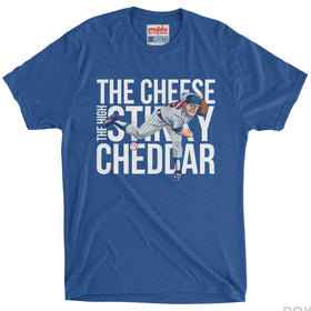 RSVLTS Extra Small / Royal Blue Rookie of the Year T-Shirt High Stinky Cheddar – Crewneck T-shirt
