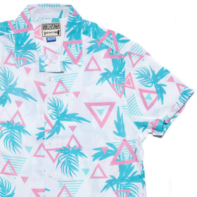 RSVLTS RSVLTS Short Sleeve Shirt Bermuda Triangles – Bowling Shirt