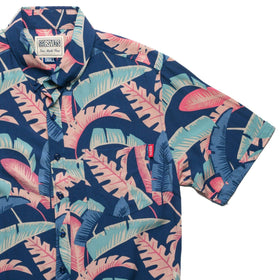 RSVLTS RSVLTS Short Sleeve Shirt Pastel Palms – Bamboo Short Sleeve Shirt