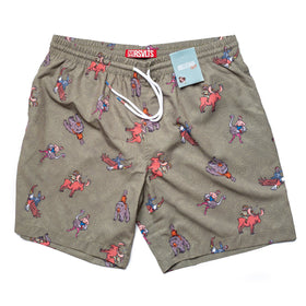 RSVLTS Small / Green RSVLTS Swim Trunks Teddy Rider – Swim Trunks