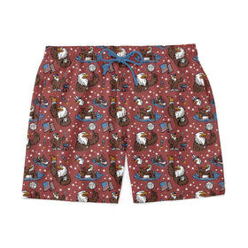 RSVLTS Small RSVLTS Swim Trunks Grills Chills & Bills – Swim Trunks
