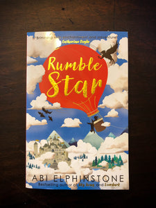 Image shows the front cover of paperback book Rumblestar written by Abi Elphinstone.