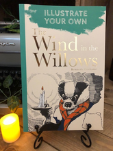 Load image into Gallery viewer, Illustrate Your Own The Wind In The Willows