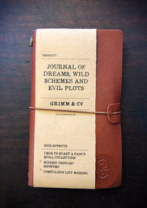 Journal of Dreams, Wild Schemes and Evil Plots