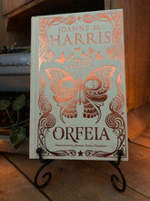 Load image into Gallery viewer, Image of the front cover of the hardback book Orfeia written by Joanne Harris.