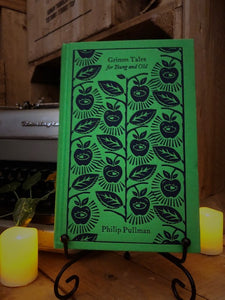 Image of the clothbound hardback book Grimm Tales For Old and Young by Philip Pullman.