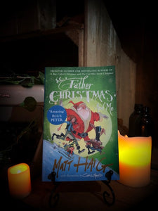 Image of the front cover of paperback book Father Christmas and Me