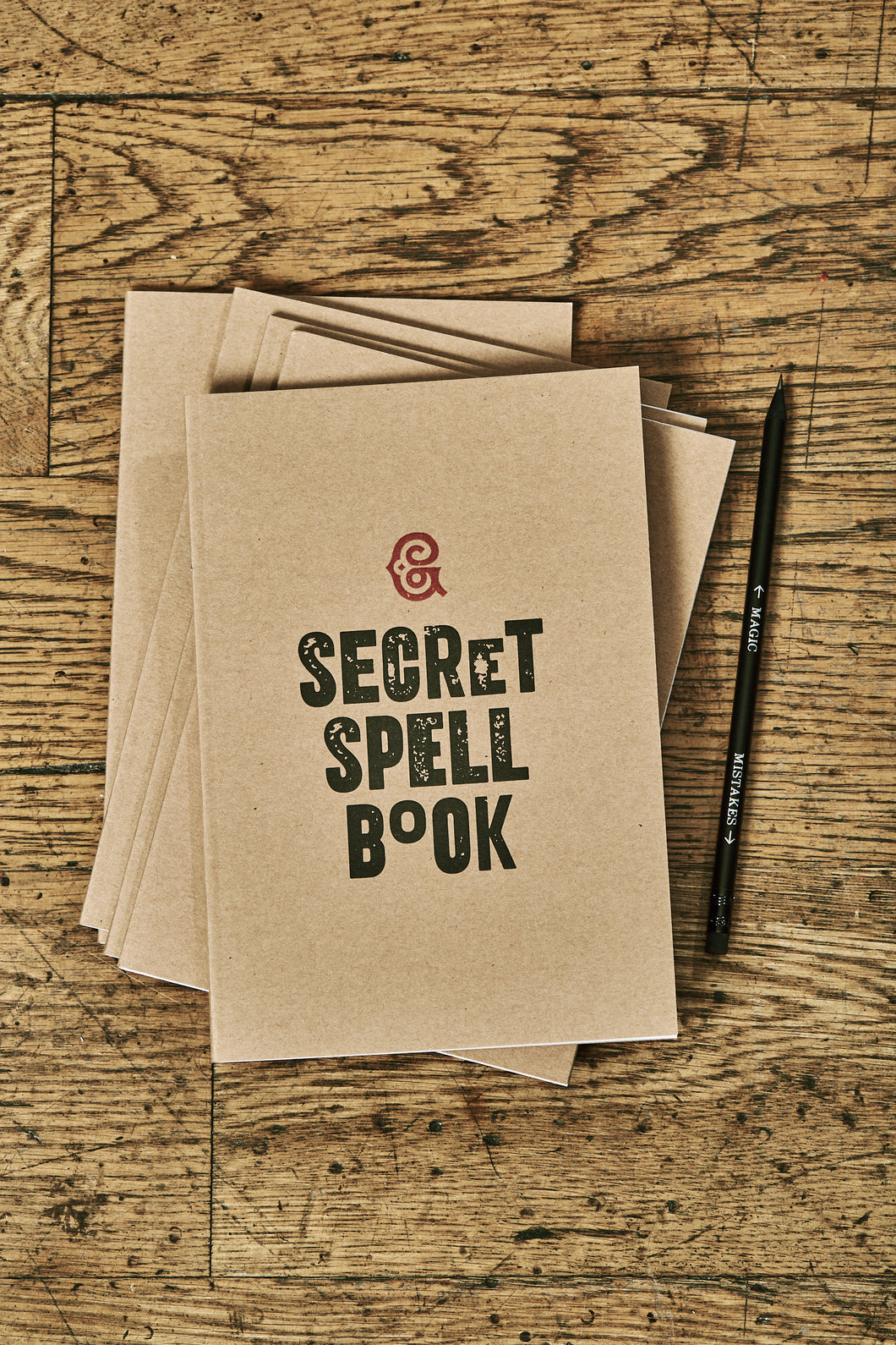 Secret Spell Book Note Keeper