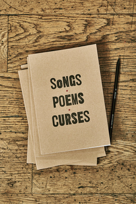 Songs/Poems/Curses Note Keeper
