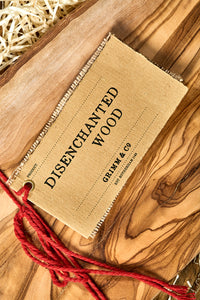 Disenchanted wood