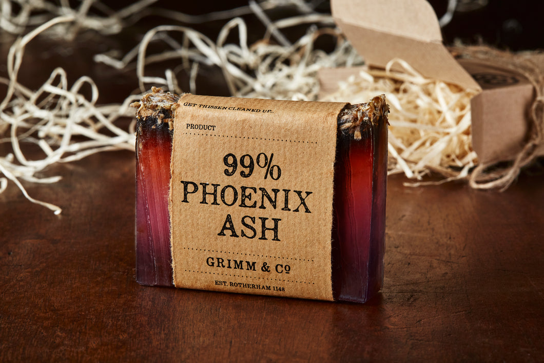 Image of 99% Phoenix Ash solid potion ingredient, otherwise known as lavender soap.
