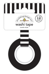 Doodlebug Lots O' Luck Tuxedo Stripe Washi Tape