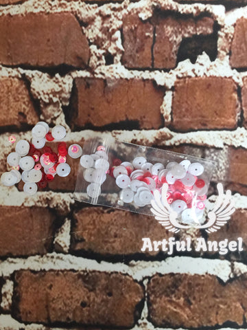 Angel Dust-Pink & Red Sequin Pack