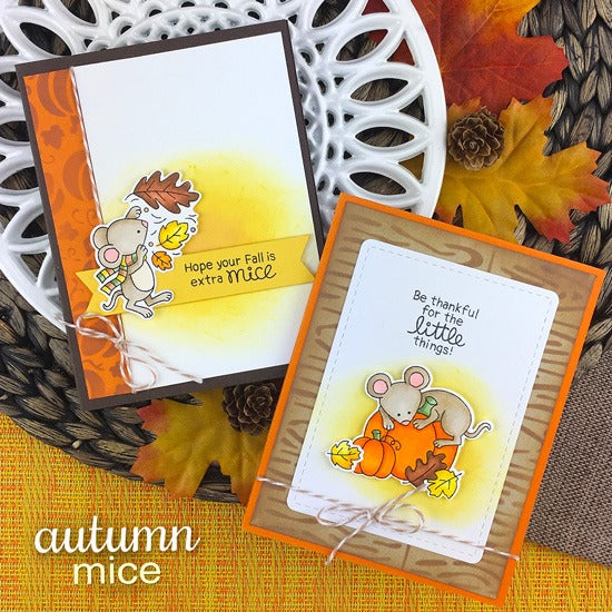 Newton's Nook Autumn Mice