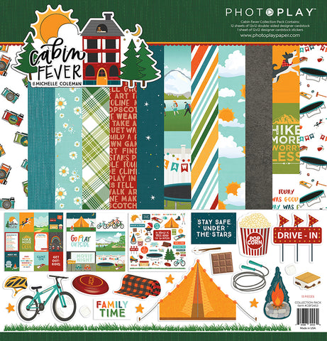 PhotoPlay Cabin Fever 12x12 Collection
