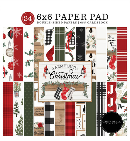 Carta Bella Farmhouse Christmas 6x6 Paper Pad