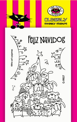 The Cat's Pajamas-Feliz Navidog