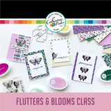 Flutters & Blooms Virtual Card Class-Level 3
