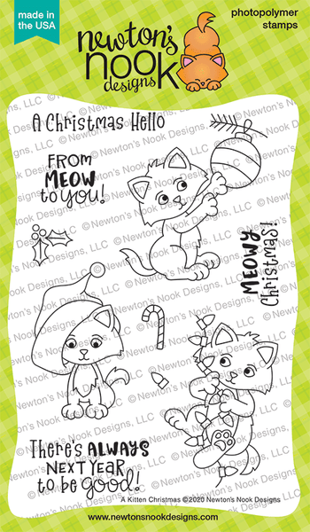 Newton's Nook A Kitten Christmas