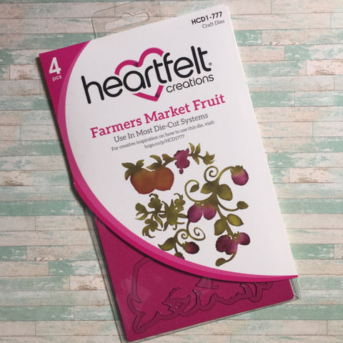 Heartfelt Creations-Farmers Market Fruit Craft Die
