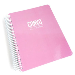 Catherine Pooler Canvo Bullet Journal Pink Chapagne