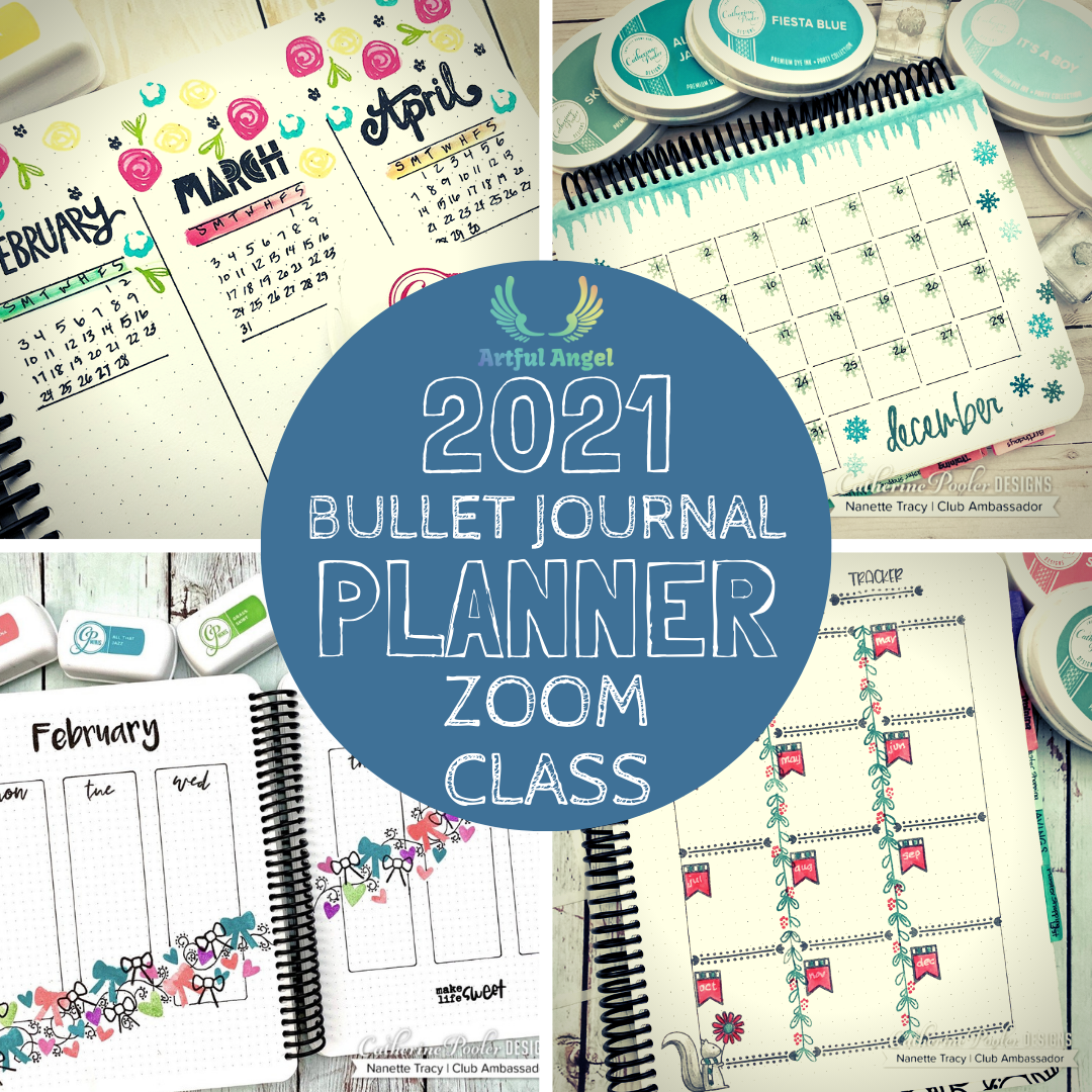 Zoom Planner Class-Oct 3, 2020 from 1p-3p