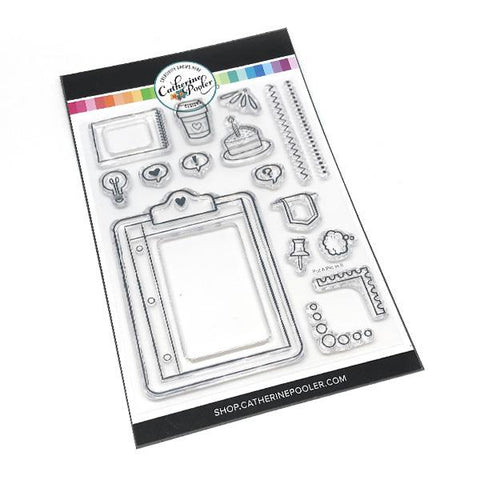 Catherine Pooler Put A Pin In It Stamp Set
