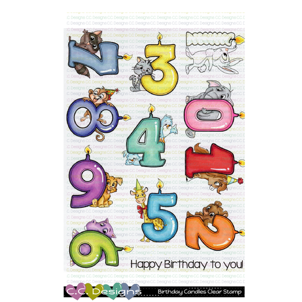 C. C. Designs Birthday Candles