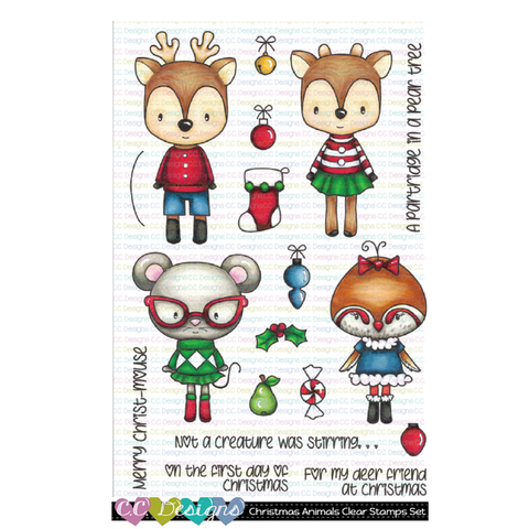 C. C. Designs Christmas Animals