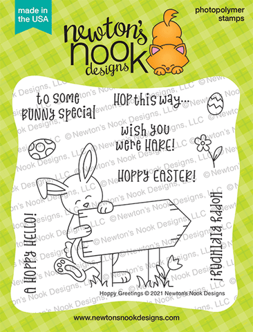 Newton's Nook Hoppy Greetings