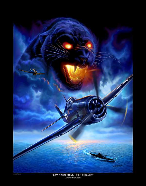 Cat From Hell F6F Hellcat