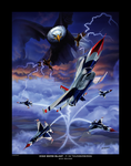 High Bomb Blast F-16 Thunderbirds