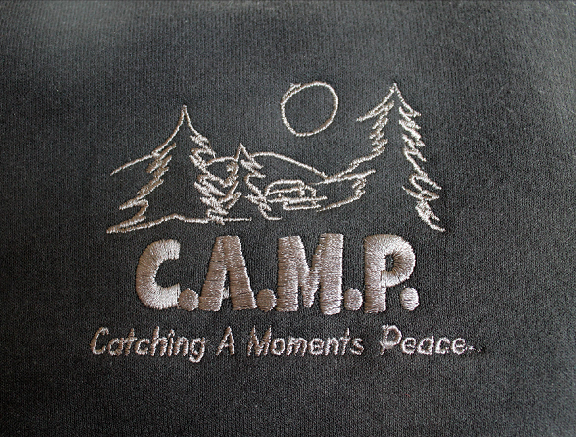 Camp Full Zip T-Shirt Hoodie