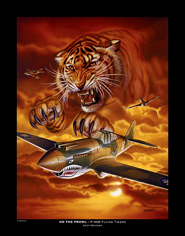 On the Prowl Flying Tigers