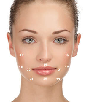 mouth pressure points