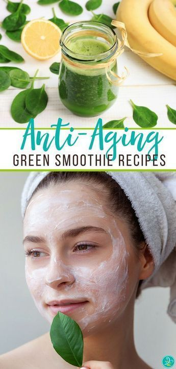 Green Anti-Aging Smoothies