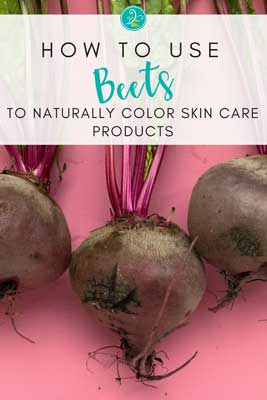 Beets Naturally Color Skincare Products