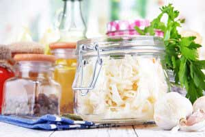 Fermented Foods with natural enzymes and probiotics