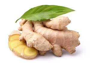 ginger root for firming, fine lines and wrinkles